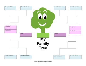 Kid Family Tree