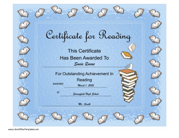 Readingachievementcertificateg reading achievement certificate libreoffice template yadclub Image collections